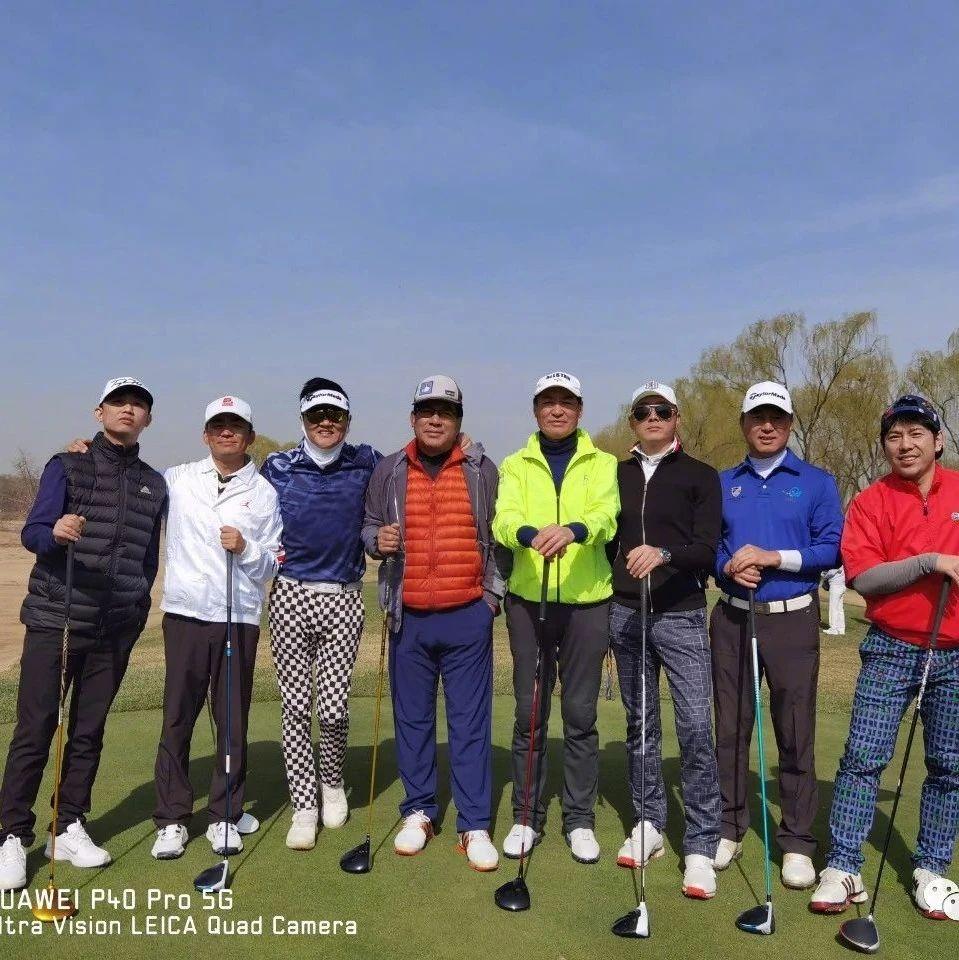 GAI与孙楠、王宝强、朱时茂、满文军等打高尔夫球