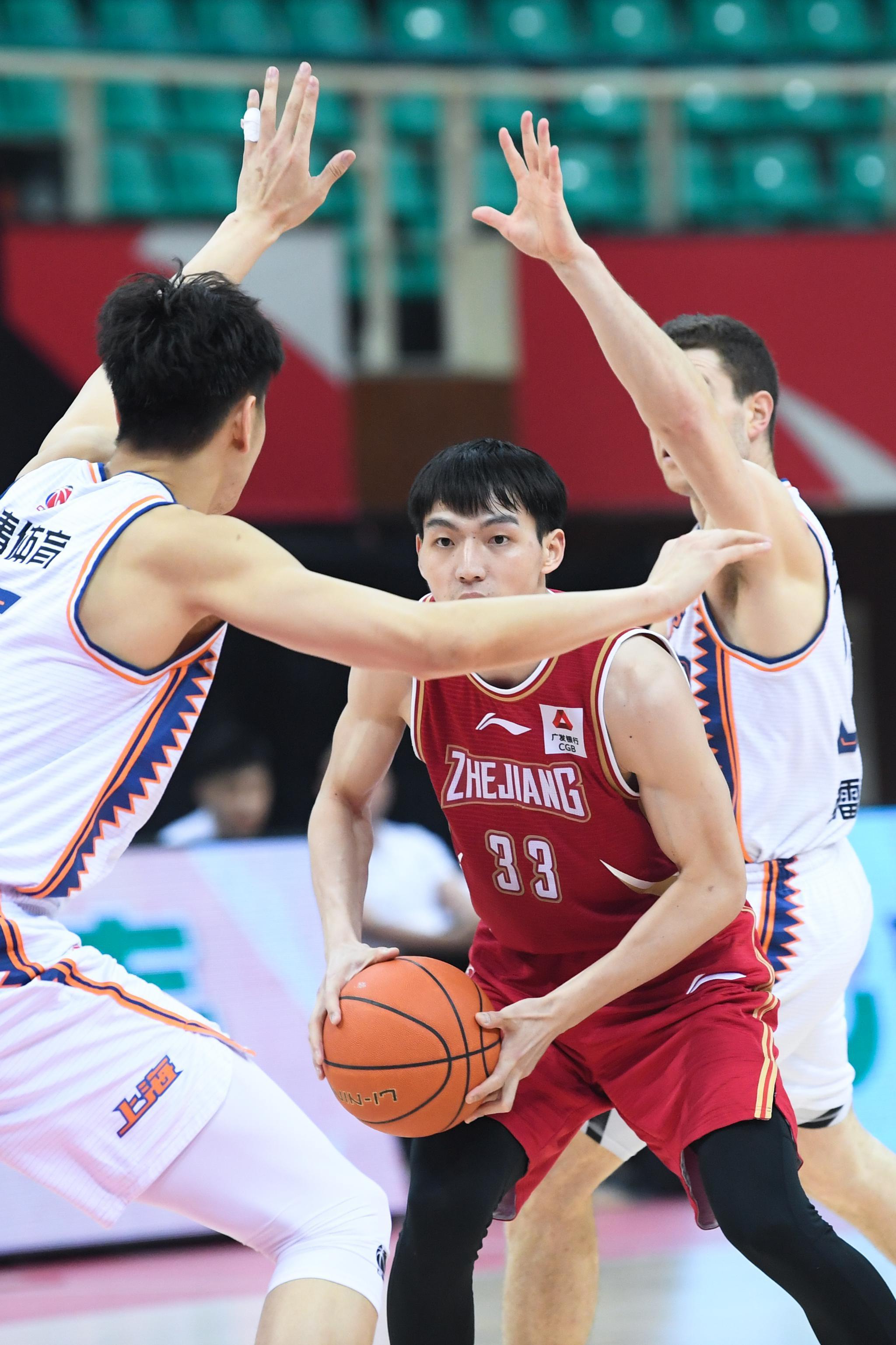 篮球——CBA第四阶段:浙江稠州金租胜上海久事