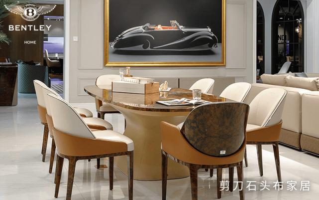 宾利轻奢家具 用细腻的工艺诠释出奢华的生活美感