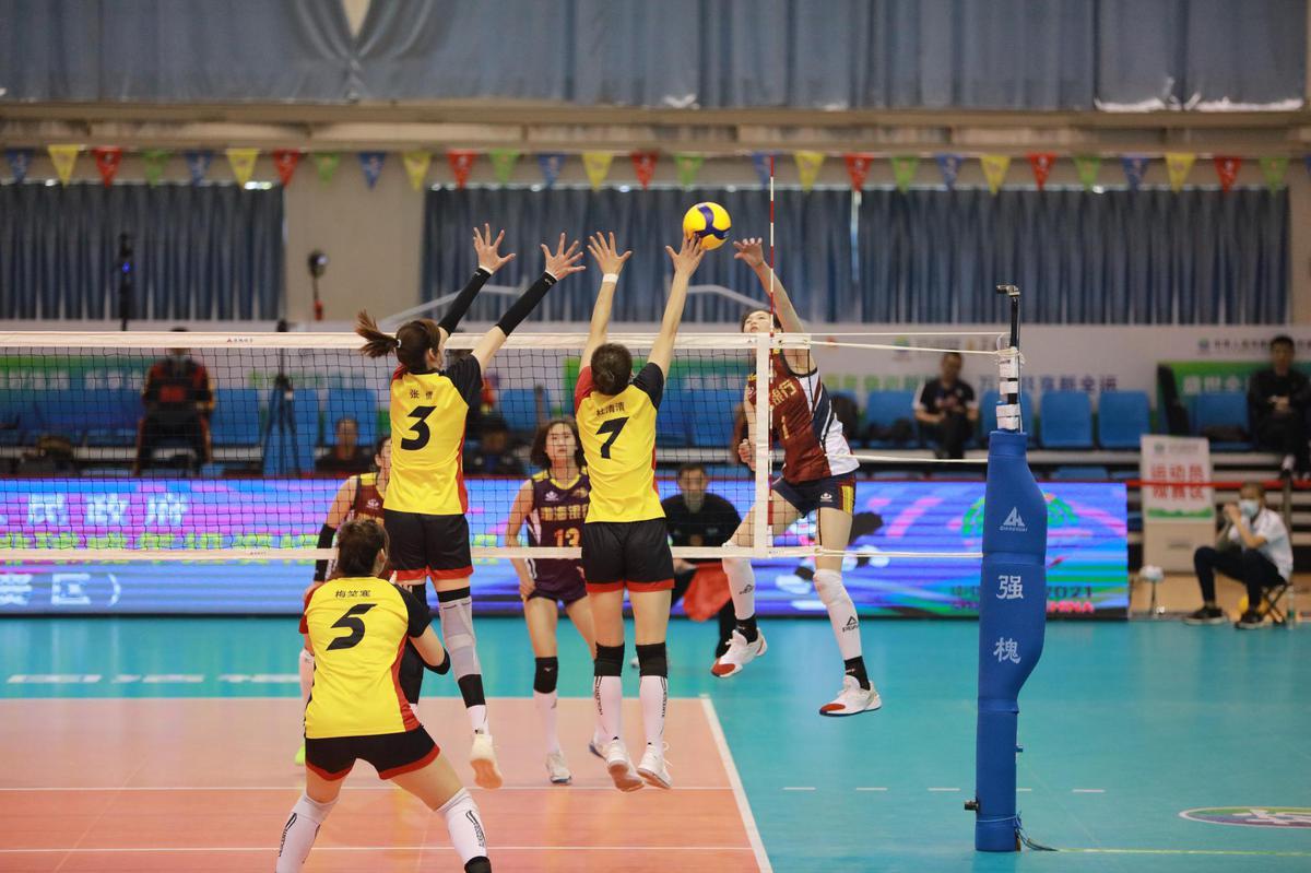 天津女排六战全胜,以小组头名晋级,广东女排排名小组第四