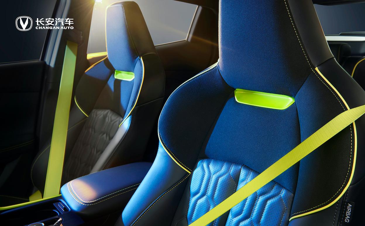 无处不在的战斗气息!长安UNI-T运动版刷新中国汽车品牌设计高度