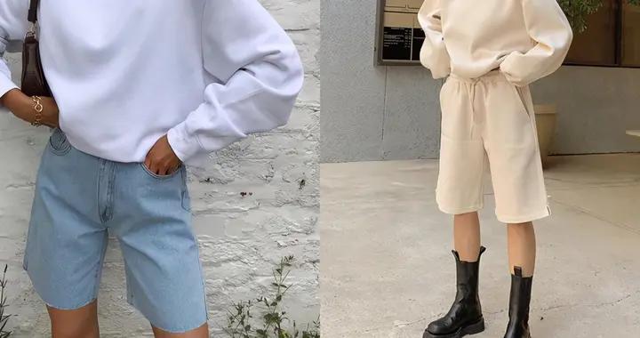 不比热裤性感,也没有长裤帅气… 不过这才是短裤最时髦的长度