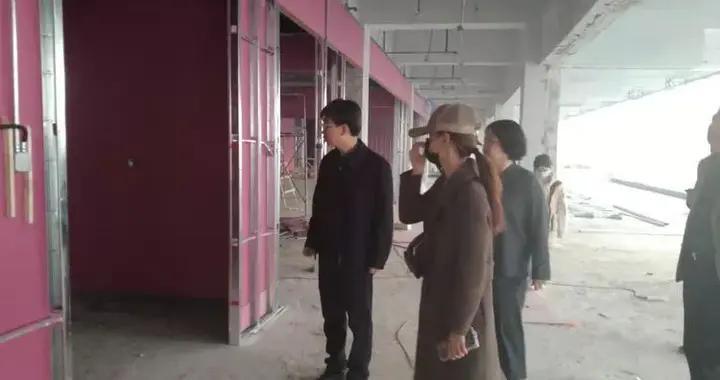 邯郸丛台区政府副区长张杰实地督导重点项目建设情况