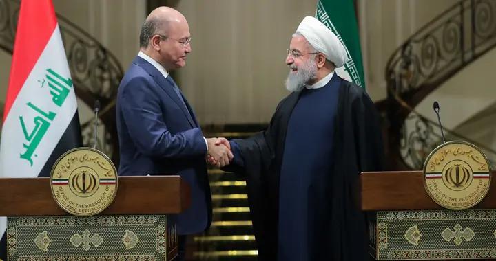 鲁哈尼致电伊拉克总统萨利赫,称美国在中东地区扮演破坏性角色
