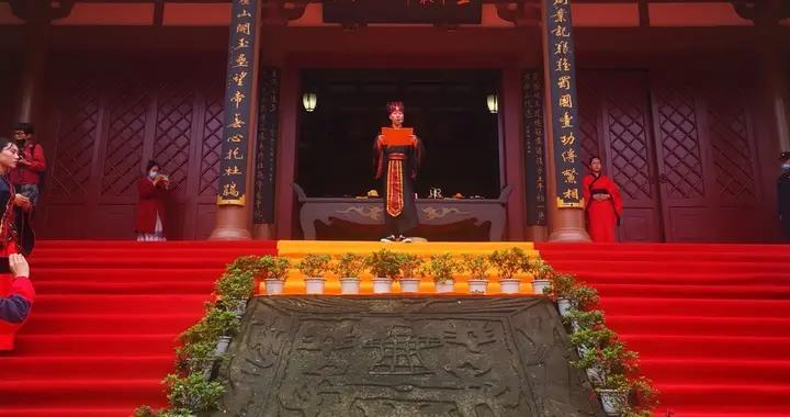 琴棋书画诗酒花茶……来郫都望丛祠体验中国传统八雅文化