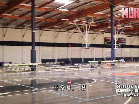 运球后投篮系列之侧面急停跳投辅助手训练