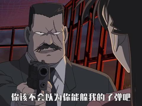 名侦探柯南:小兰真的太厉害了, 能躲过子弹