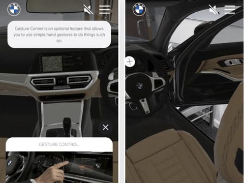 宝马利用8th Wall技术提供手机AR看车服务