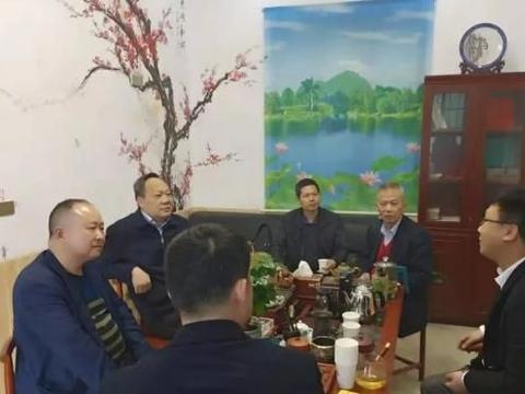 鄂州楚商联合会走访梁子湖区会员企业和辖区高新企业