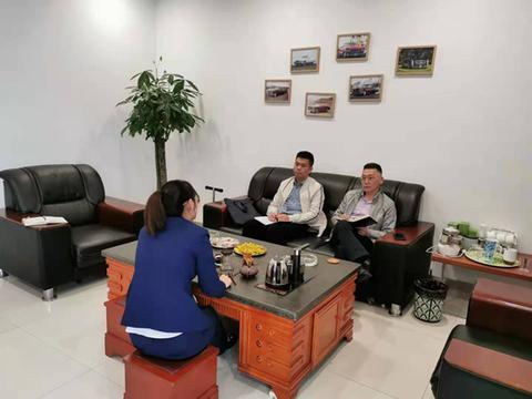 赣州职业技术学院汽车工程系走访企业对接汽车专业人才需求