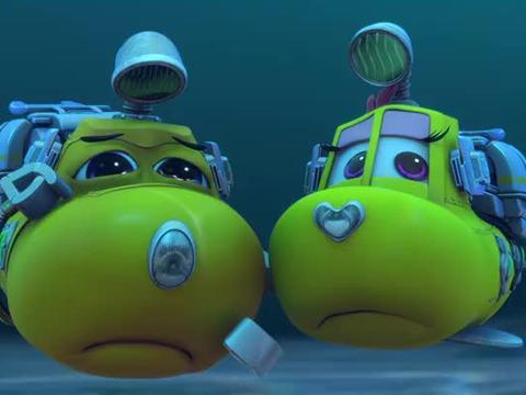 潜艇总动员:在贝贝的指挥下,阿力终于摆脱了旋风,他很开心