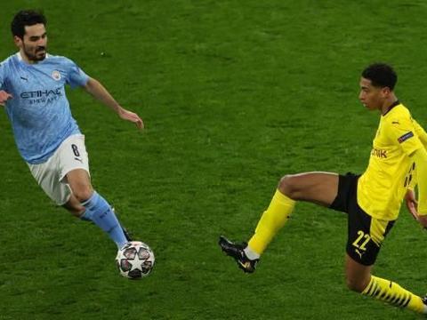 德甲黑马出局,瓜迪奥拉再创纪录,曼城半决赛对阵大巴黎
