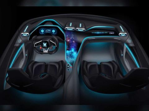 迅猛,2,300马力全电动德国超级跑车Elektron Quasar