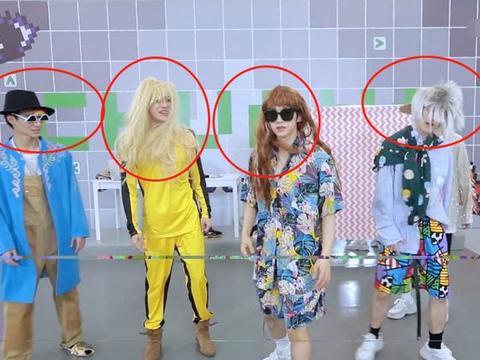 《创4》训练生穿女装,刘宇双马尾毫无违和感,米卡我没看错吧?