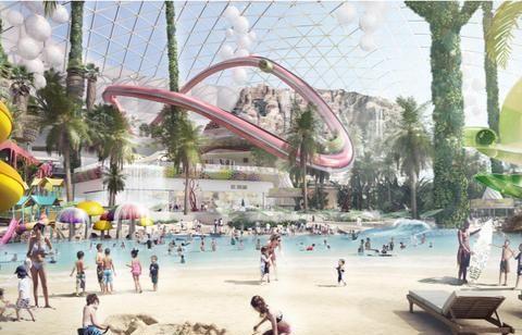 新疆昌吉温泉度假区规划设计方案