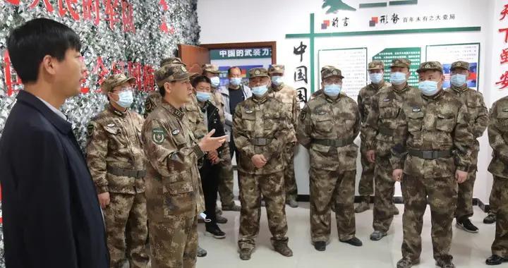 河南省原阳县人武部组织基层武装部规范化建设现场观摩活动