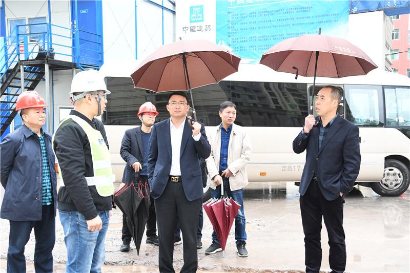 武义县长调研督查政府投资项目工作