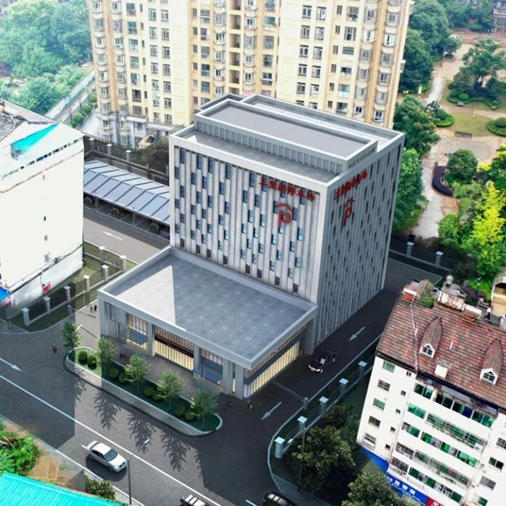 九江城区将新建一处立体停车场!