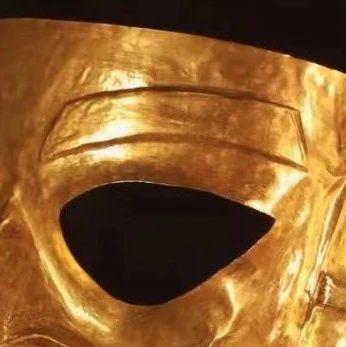 """95后高能""""修复""""黄金面具,三星堆:来上班吗"""