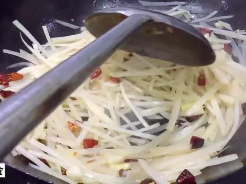 香辣土豆丝的做法,三皮分享技巧,想知道什么香什么辣