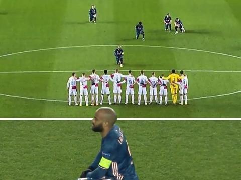 阿森纳球员赛前单膝下跪,阿尔特塔:球员们主动要求这么做