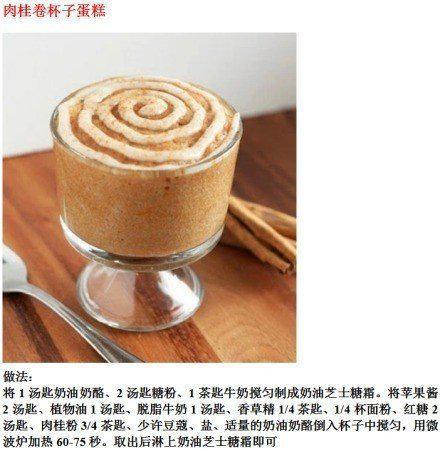微波炉杯子蛋糕的做法,看似特简单,棒棒哒哦!
