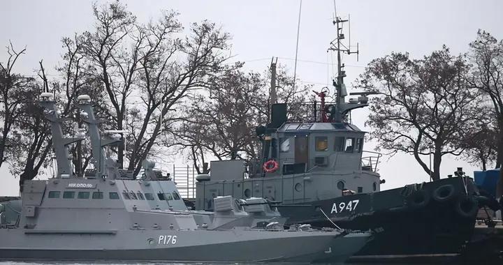 乌克兰海军海上演习,称后路被俄军堵住,军舰回不了港
