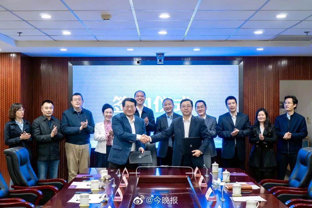 天津出版传媒集团与北京语言大学签署合作协议