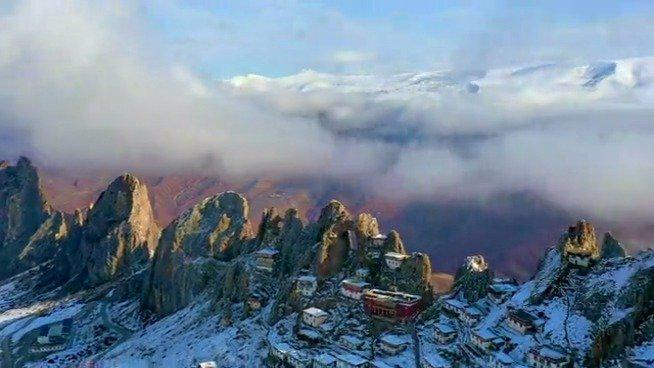 苯教有四大神山的说法……