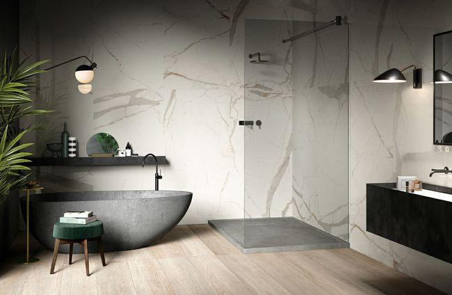 不差钱的朋友,卫生间可以这么弄,干净整洁有豪宅的感觉