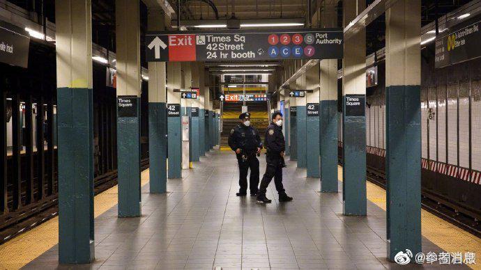 美国一少年因携带AK47在纽约地铁站被捕