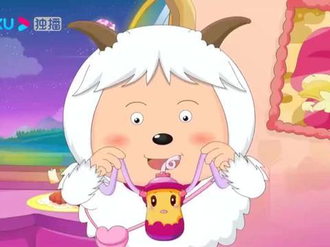 喜羊羊:暖羊羊做成想想麻花,吃完就找出欢欢爱恶作剧的原因