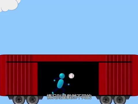 在高速行驶的火车上跳一下,为什么会落在原地?看完你就懂了!