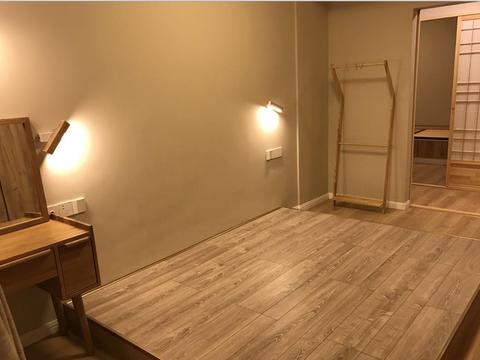66㎡日式小窝,卧室坚持不买床,三分离卫生间设计