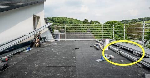 露台铺地不用浇水泥,铝制框架撑起整块地砖,无缝铺设不担心积水