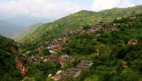 """云南有一座千年历史的村落,隐秘如""""世外桃源""""一般"""