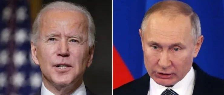 """拜登致电普京后""""变脸"""",美国对俄实行14年来最严制裁"""