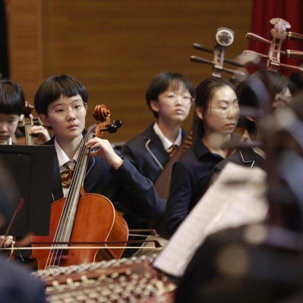 山东省中小学生艺术展演器乐专项研讨活动在济南外国语学校举行