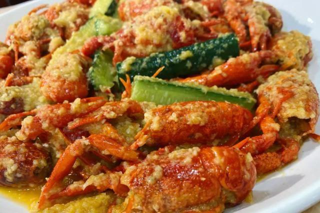 苏城蒜泥龙虾,蒜香浓郁肉质紧实,光看着就流口水