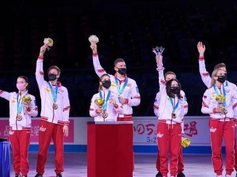 千金女单夺冠纪平梨花崩盘 俄罗斯首夺花样滑冰世团赛冠军