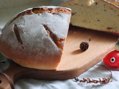 零失败的坚果欧式面包,快捷又简单,在家制作很健康
