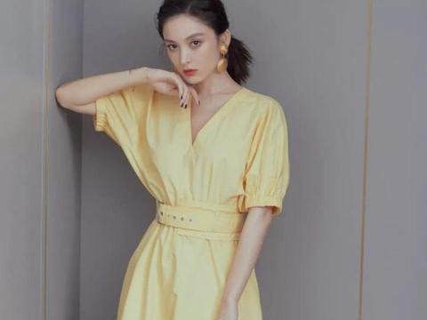 挑件优雅气质的长款连衣裙,穿出你的春天甜美范,浪漫迷人又高级