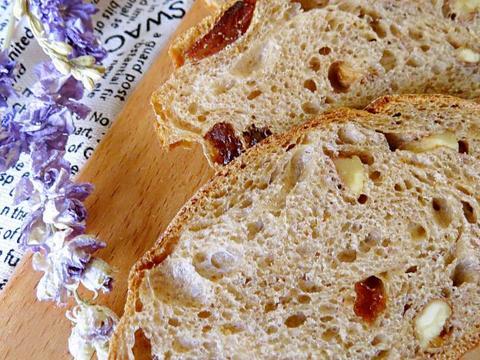 满满的干货,欧式核桃提子面包的做法分享