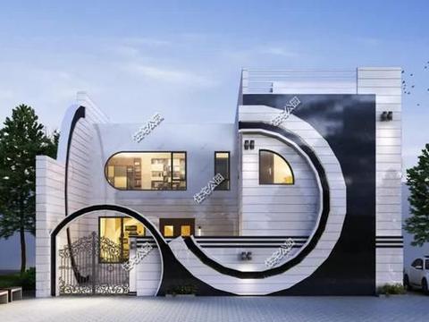 室内全套间设计,13×13米二层农村住宅,可做民宿使用