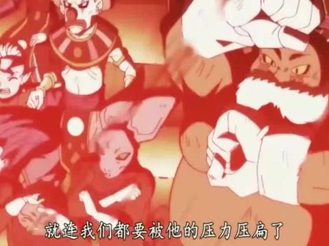 龙珠超:悟空进入完全的自在极意功,吉连不是对手,这状态好酷!