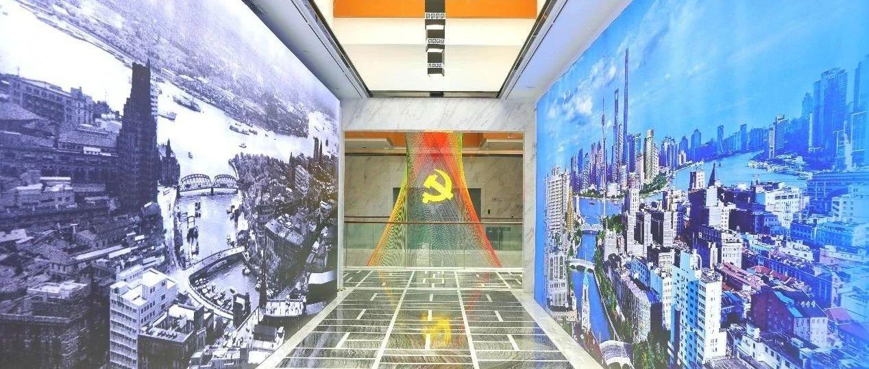 看陆家嘴手绘规划图、逛南浦大桥设计师书房,一起感受TA们的追梦故事
