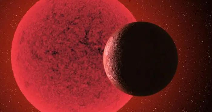 """天文学家新探测到一颗围绕红矮星运行的""""超级地球"""""""