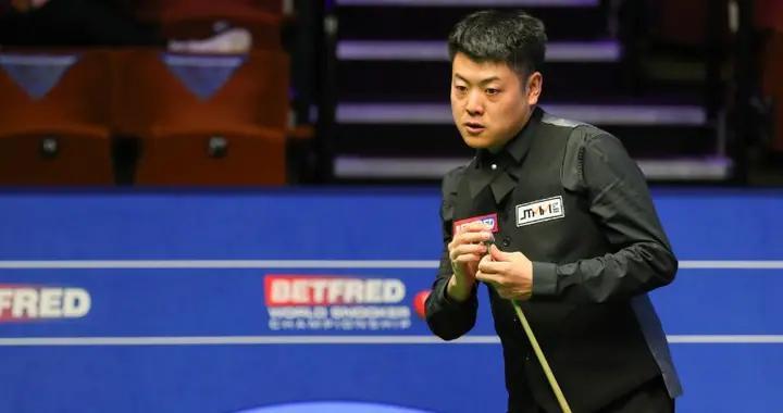 斯诺克世锦赛首轮两场6-3!罗伯逊表现强势,中国名将轰单杆126分