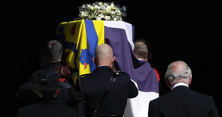 菲利普亲王葬礼在温莎城堡圣乔治教堂举行