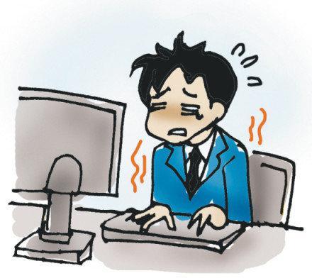 颈椎病的8个警报